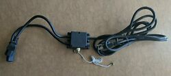 Used Replacement 'y' Cord With Switch For Neon Signs With 2 Transformers. 10'
