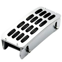 20xadjustable Heighten Gas Brake Foot Rest Pedal Accelerator Pad Cover Gas