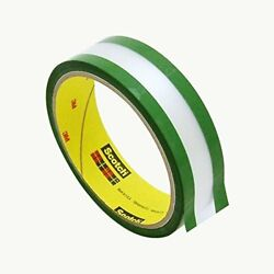 685 - Riveters Tape - 1in X 36yd - Transparent W/ Green Adhesive - Pack Of 36