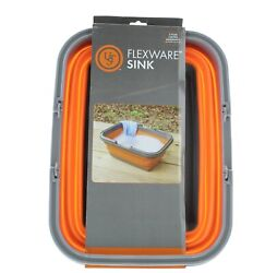 Ust Flexware Collapsible Sink, 2.25 Gal Camping Wash Basin With Carry Handles