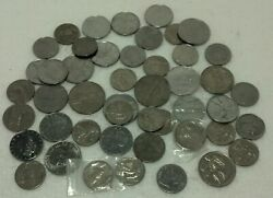 Lot Of 48 Italian Coins Some Early As1910 Pre-war Victor Emanuel King Preowned