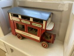 Genuine 1920andrsquos Lines Bros Triang Wooden London Bus