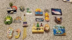 Lot Of 17 Refrigerator Magnets From The Islands