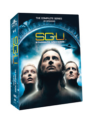 Stargate Universethe Complete Dvd Collection