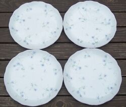 Set Of 4 Mikasa Spring Melodies Light Touch Fv 903  Dinner Plates 11 1/4