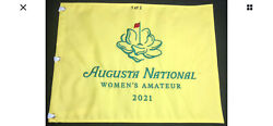 2021 Augusta National Womens Amateur Masters Golf Pin Flag Embroidered Club Angc
