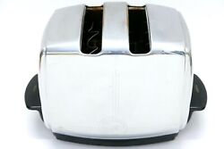 Vintage Sunbeam Art Deco Style Toaster Tested Works T-20a Automatic Clean Inside