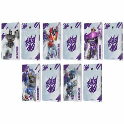 Transformers Decepticons Key Art Leather Book Case For Samsung Galaxy Tablets