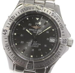 Breitling Colt Ocean A17350 Chronometer Black Dial Automatic Menand039s Watch_597811