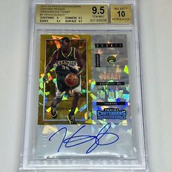 2017 Contenders Kevin Durant Historic Rookie Ticket Cracked Ice Bgs 9.5 Auto 10