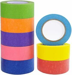 Colored Masking Tape 8 Different Colors Masking Tape Fun Supplies Kit For Kids