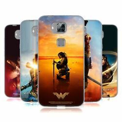 Official Wonder Woman Movie Posters Soft Gel Case For Huawei Phones 2