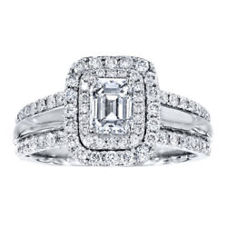 1.50 Ct Real Diamond Engagement Ring For Women Solid 950 Platinum Ring Size 10 7