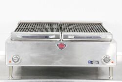 Used Wells B-50 36 Countertop Electric Charbroiler   626853