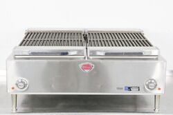 Used Wells B-50 36 Countertop Electric Charbroiler   626854