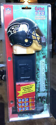 Giant Nfl Seattle Seahawks Pez - Nip 12 Inches Tall Rare Collectible