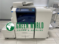 Xerox Workcentre 7970 Color With Br Booklet Finisher And New Hi-cap Low Meter