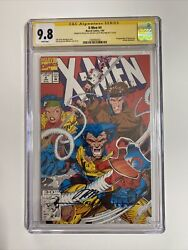 X-men 4 Cgc Ss 9.8 1st Omega Red Signed By Jim Lee And Scott Williams