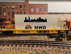 Limited Edition Menards O-gauge Maxi Stack Container Cars - Tca Midwest Division