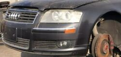 04-09 Audi A8 L Front End Parts With Bumper Hood Fenders Radiator Core Support