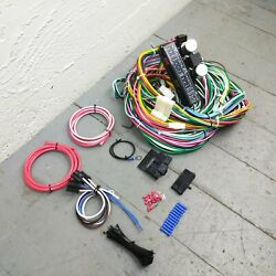 1937 - 1942 Willys Wire Harness Upgrade Kit Fits Painless Terminal Update Fuse