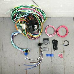 1946 - 1954 Willys Truck Wire Harness Upgrade Kit Fits Painless New Terminal Kic