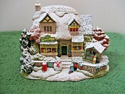 Lilliput Lane Snowed Christmas Lights At Sweet Delights L2556 Mib With Deed.