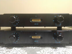 Am Audio As-2 As2 Crossover Filter Filtro Subwoofer Low Pass 38hz -160hz X2 Ch.
