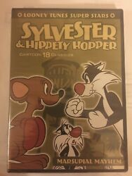 Looney Tunes Super Stars Sylvester And Hippety Hopper Factory Seal Brand New Rare