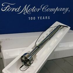 1974 - 1977 Ford Bronco Polished Stainless Steering Column No Key Col Auto New
