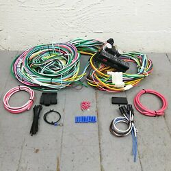 1971 - 1973 Ford Mustang And Cougar Wire Harness Upgrade Kit Fits Painless New