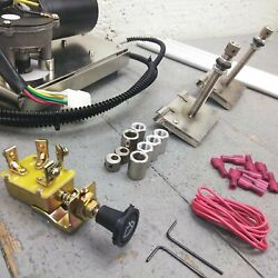 Gm B Body Car Auto Windshield Wiper Washer Kit + 12v Harness Cable Drive 327 210