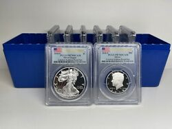 2018-s Silver Proof Set 8 Coins Limited Edition Pcgs First Strike Flag - 27