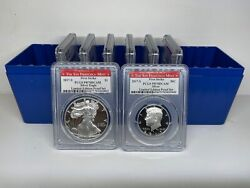 2017-s Silver Proof Set 8 Coins Limited Edition Pcgs Fs San Francisco - 35