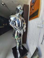 Medieval Knight Plate Armour Medieval Battle Warrior Full Body Costume Gift Item
