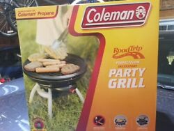 New Coleman Party Propane Compact, Portable Bbq Camping Picnic Tailgating Grill