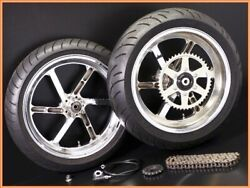1990 Gpz900r A7 Hipoint 17inch Aluminum Forged Wheel Front Rear Set Yyy