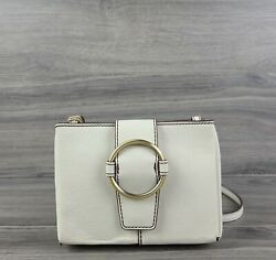 Hobo Bags Crossbody Small Vintage Leather Elan Handbag Latte Beige $90.00