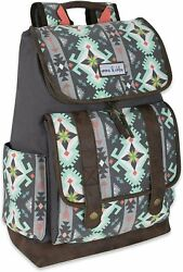 Front Loading Backpacks for Women and Girls with Water Bottle Pocket Aztec $16.99