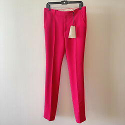 Nwt Fuchsia Pants 40/s Pink Authentic