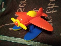 Vintage American Plastic Company Airplane Toy Made In Usa