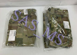 Gen Iii L5 Scorpion W2 Level 5 Soft Shell Cold Weather Jacket And Trouser Lr Nwt