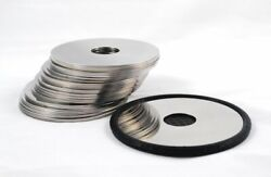 Lot Of 22 Harddrive Platters For Scrap Platinum Recovery