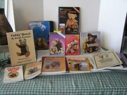 Collectible Antique Teddy Bears Steiff History Types Makers Books Lot Of 15