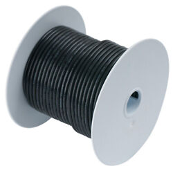 Ancor 112025 Black 6 Awg Tinned Copper Wire 250'