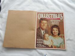 Collectibles Illustrated Magazine-november/december1983-kennedy-the Jfk Library