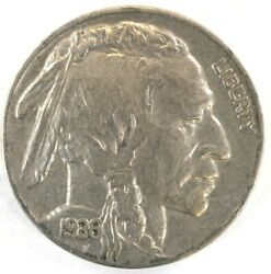 1936-p Full Horn 3 1/2 Buffalo Nickel 5 Cent Old U.s. Coins H1362
