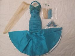 Touch Of Teal Daphne Brenda Starr Tonner Doll Outfit 300 Made 2007 Beaded Tyler