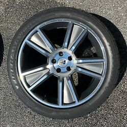 Used 20 X 9 Hurst Stunner Wheel With Firehawk Indy 500 Tire Qty 4