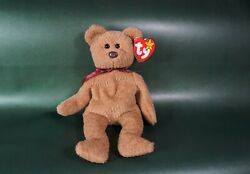 Curly Ty Beanie Baby Rare Brown Nose Error Tag Error 93-96 Original Owner